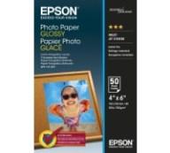 ΓΝΗΣΙΟ EPSON GLOSSY PHOTO PAPER 10 X 15 CM 50 ΦΥΛΛΑ 200G ΜΕ OEM :C13S042547