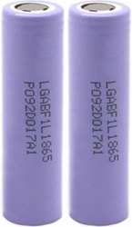 RECHARGEABLE BATTERY LG 18650 INR18650 F1L 2850MAH LI-ION 2ΤΜΧ