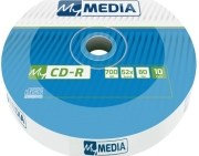MY MEDIA CD-R 700MB WRAP 10PCS