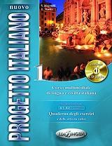 NUOVO PROGETTO ITALIANO 1 QUADERNO DEGLI ESERCIZI+ATTIVITA VIDEO+CD AUDIO