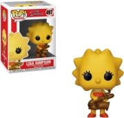 FUNKO POP! TELEVISION: THE SIMPSONS - LISA SIMPSON WITH SAXOPHONE #497 VINYL FIGURE