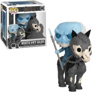 FUNKO POP! RIDES: GAME OF THRONES - MOUNTED WHITE WALKER ON HORSE #60 VINYL FIGURE