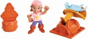 FISHER PRICE DISNEY CAPTAIN JAKE THE NEVERLAND PIRATES FIGURES - IZZY'S STINGRAY SLINGER (CBF46)