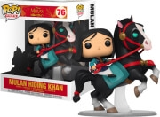 FUNKO POP! RIDES: DISNEY MULAN - MULAN RIDING KHAN (15CM) #76 VINYL FIGURE