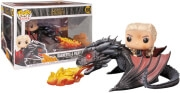 FUNKO POP! RIDES: GAME OF THRONES - DAENERYS ON FIERY DROGON #68 VINYL FIGURE