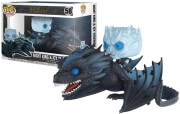 FUNKO POP! RIDES: GAME OF THRONES - NIGHT KING ICY VISERION #58 (GLOWS IN THE DARK) VINYL FIGURE