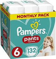 PAMPERS PANTS NO6 (15+KG) 132 TMX MONTHLY PACK