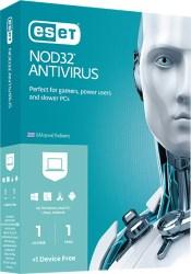 ESET NOD32 ANTIVIRUS 1PC/1YR RETAIL