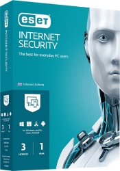 ESET INTERNET SECURITY 3PC/1YR RETAIL