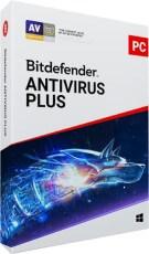 BITDEFENDER ANTIVIRUS PLUS 3 PC/1 MS/1 YEAR