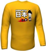 GAMERSWEAR GAMING NATION LONGSLEEVE YELLOW (XL)