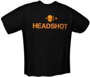 GAMERSWEAR HEADSHOT T-SHIRT BLACK (S)