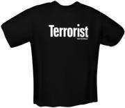 GAMERSWEAR TERRORIST T-SHIRT BLACK (S)