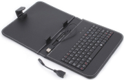 POINT OF VIEW PROTECTIVE FOLDER WITH USB KEYBOARD 8'' BLACK