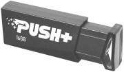 PATRIOT PSF16GPSHB32U PUSH+ 16GB USB 3.2 GEN 1 FLASH DRIVE
