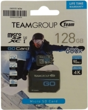 TEAM GROUP TGUSDX128GU303 MICRO SDHC / SDXC - GO CARD SERIES 128GB (U3)