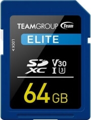 TEAM GROUP TESDXC64GIV3001 ELITE SDXC UHS-I U3 V30 64GB(U3 V30)