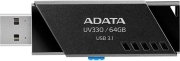 ADATA UV330 64GB USB 3.1 FLASH DRIVE BLACK