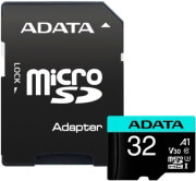 ADATA PREMIER PRO 32GB MICRO SDHC UHS-I V30 CLASS 10 WITH ADAPTER