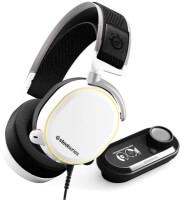 STEELSERIES ARCTIS PRO + + GAMEDAC HI-RES GAMING AUDIO SYSTEM WHITE