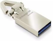 INTEGRAL TAG USB 3.0 64GB FLASH DRIVE SILVER METAL