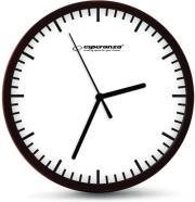 ESPERANZA EHC010W WALL CLOCK BUDAPEST WHITE
