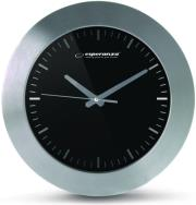 ESPERANZA EHC011K WALL CLOCK HOUSTON BLACK