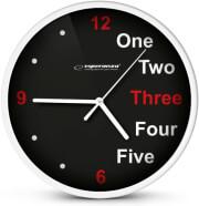 ESPERANZA EHC014W WALL CLOCK PRAGUE WHITE