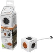 ALLOCACOC POWERCUBE REMOTE EXTENDED SINGLE INCL. 1.5M CABLE GREY TYPE F