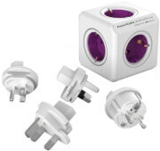 ALLOCACOC POWERCUBE REWIRABLE 5 AC + 4 PCS TRAVEL PLUGS