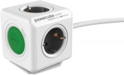 ALLOCACOC POWERCUBE EXTENDED SWITCH 1.5M GREEN TYPE F