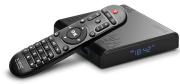SAVIO SMART TV BOX SILVER TB-S01, 2/16, ANDROID 9.0, HDMI V2.1, 4K, USB 3.0, WIFI, SD