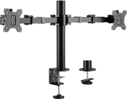 LOGILINK BP0106 DUAL MONITOR MOUNT STAND ADJUSTABLE ARM 17-32''