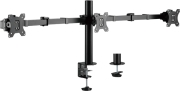 LOGILINK BP0107 TRIPLE MONITOR MOUNT STAND ADJUSTABLE ARM 17-27''