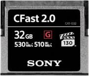 SONY 32GB G SERIES CFAST 2.0 MEMORY CARD