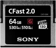 SONY 64GB G SERIES CFAST 2.0 MEMORY CARD