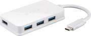 D-LINK DUB-H410 USB-C TO 4-PORT USB 3.0 HUB