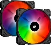 CORSAIR SP140 RGB PRO 140MM RGB LED FAN DUAL PACK WITH LIGHTING NODE CORE