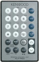 KENWOOD KCA-R6A REMOTE CONTROL
