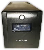 CONCEPTUM GP-1000 LCD DISPLAY UPS 1000VA/600W