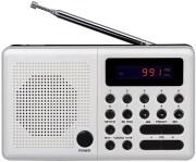 ELTRA RADIO PLISZKA USB, FM WHITE