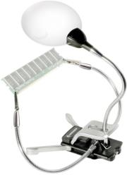 BRESSER 2X/4X 88MM THIRD HAND MAGNIFIER WITH LED ILLUMINATION