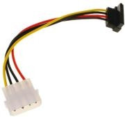 INLINE SATA POWER ADAPTER CABLE TO 4-PIN MOLEX ANGLED UP