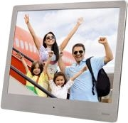 HAMA 118560 8SLB DIGITAL PHOTO FRAME 8'' SLIM STEEL SILVER
