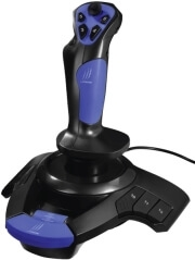 HAMA 113753 URAGE AIRBORNE VIBRATION JOYSTICK FOR PC BLACK/BLUE