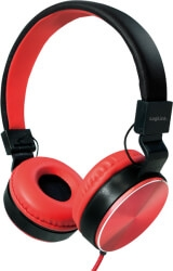 LOGILINK HS0049RD FOLDABLE STEREO HEADPHONE RED