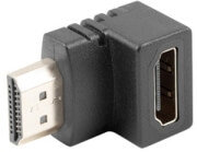 LANBERG ADAPTER HDMI MALE TO HDMI FEMALE 90Β° DOWN