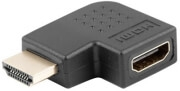 LANBERG ADAPTER HDMI MALE TO HDMI FEMALE 90Β° LEFT