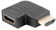LANBERG ADAPTER HDMI MALE TO HDMI FEMALE 90Β° RIGHT