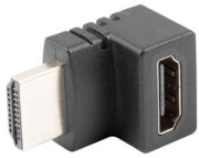 LANBERG ADAPTER HDMI MALE TO HDMI FEMALE 90Β° UP
